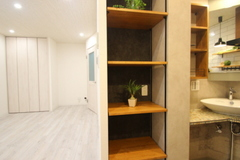 206号室キッチン4
