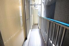 206号室バルコニー