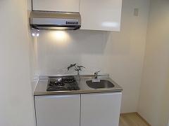 107号室キッチン