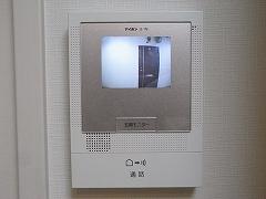 107号室モニターつきドアホン