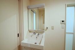 107号室洗面化粧台
