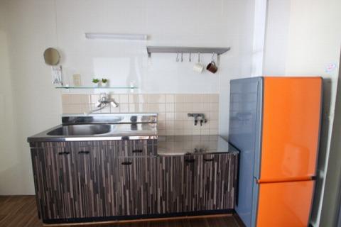 幸梅ハイツ506号キッチン