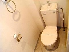 幸梅ハイツ208号トイレ
