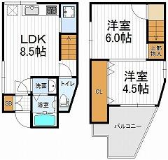 40平米戸建て2LDK・111号室(契約済)の画像